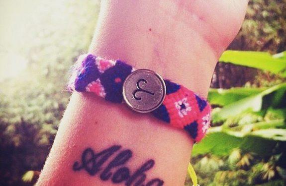 O significado da minha tatuagem aloha